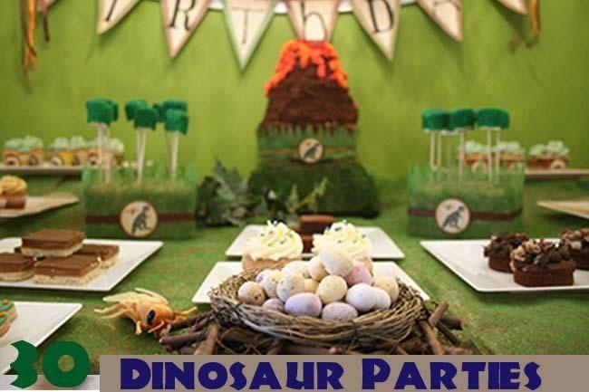 30 Dinosaur Birthday Party Ideas You Will Love Spaceships