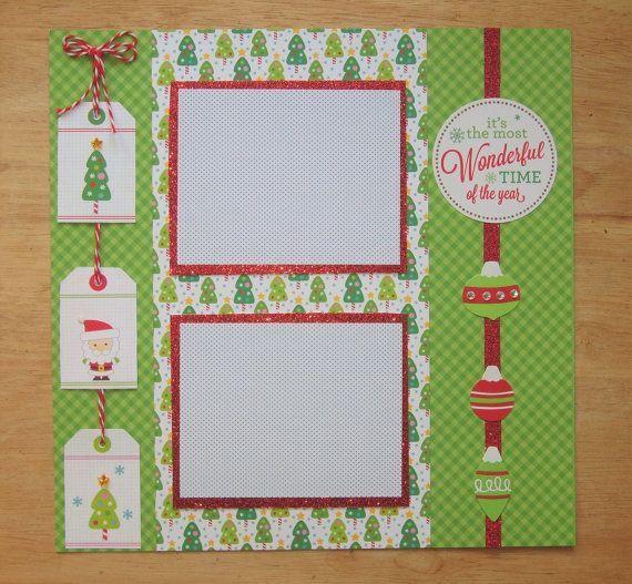 25 Best Christmas Scrapbook Layouts Ideas On Pinterest