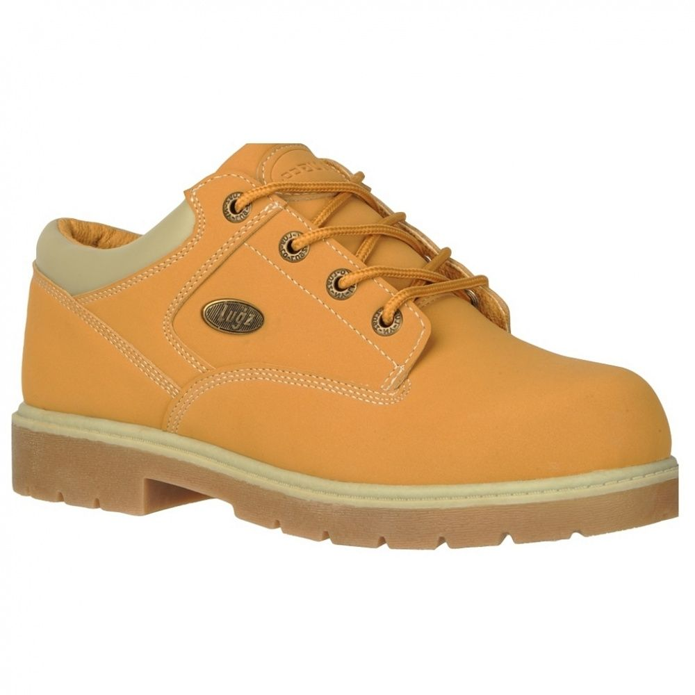 Lugz Shifter Ballistic Lace Up Boot Golden Wheat/Cream H88w3723