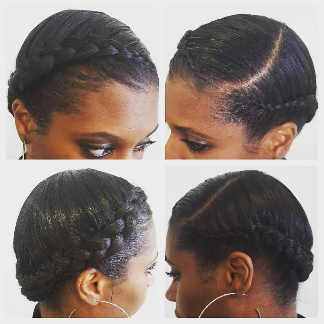 Halo French Braid For This Lovely Lady With Images Braids For