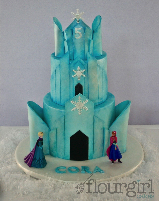 ice palace cake. elsa ice palace cake. frozen ice palace cake. ice