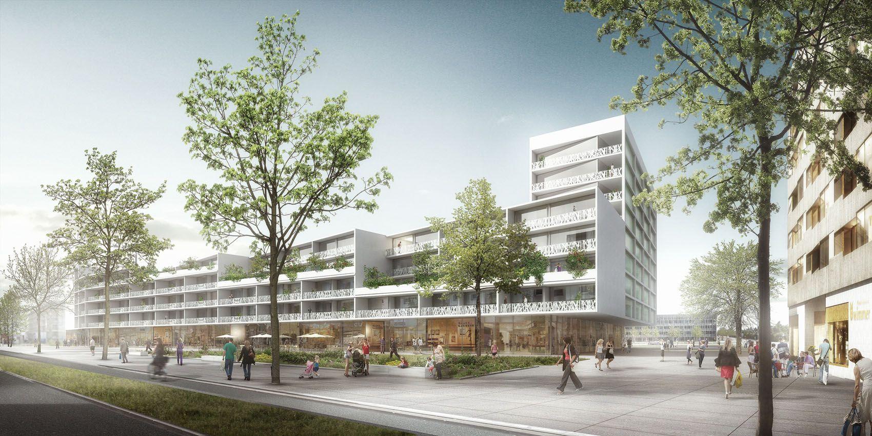 3d Visualisierung München 3d architektur visualisierung für kresings architekten aus münster
