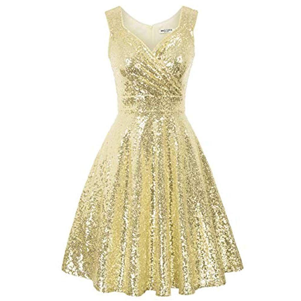 grace karin damen rockabilly kleid knielang vintage retro