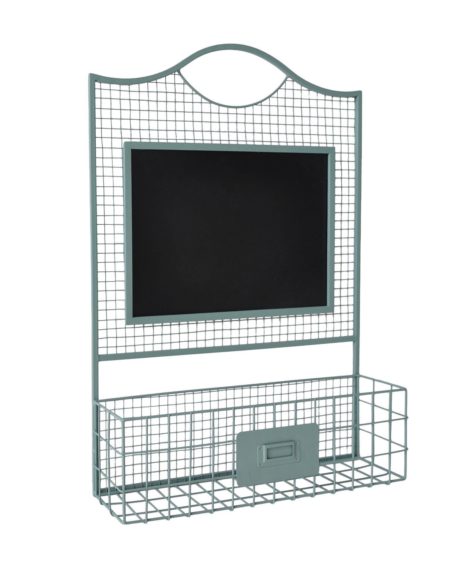 Eva Wall Rack & Chalkboard | Products | Pinterest | Basket ...