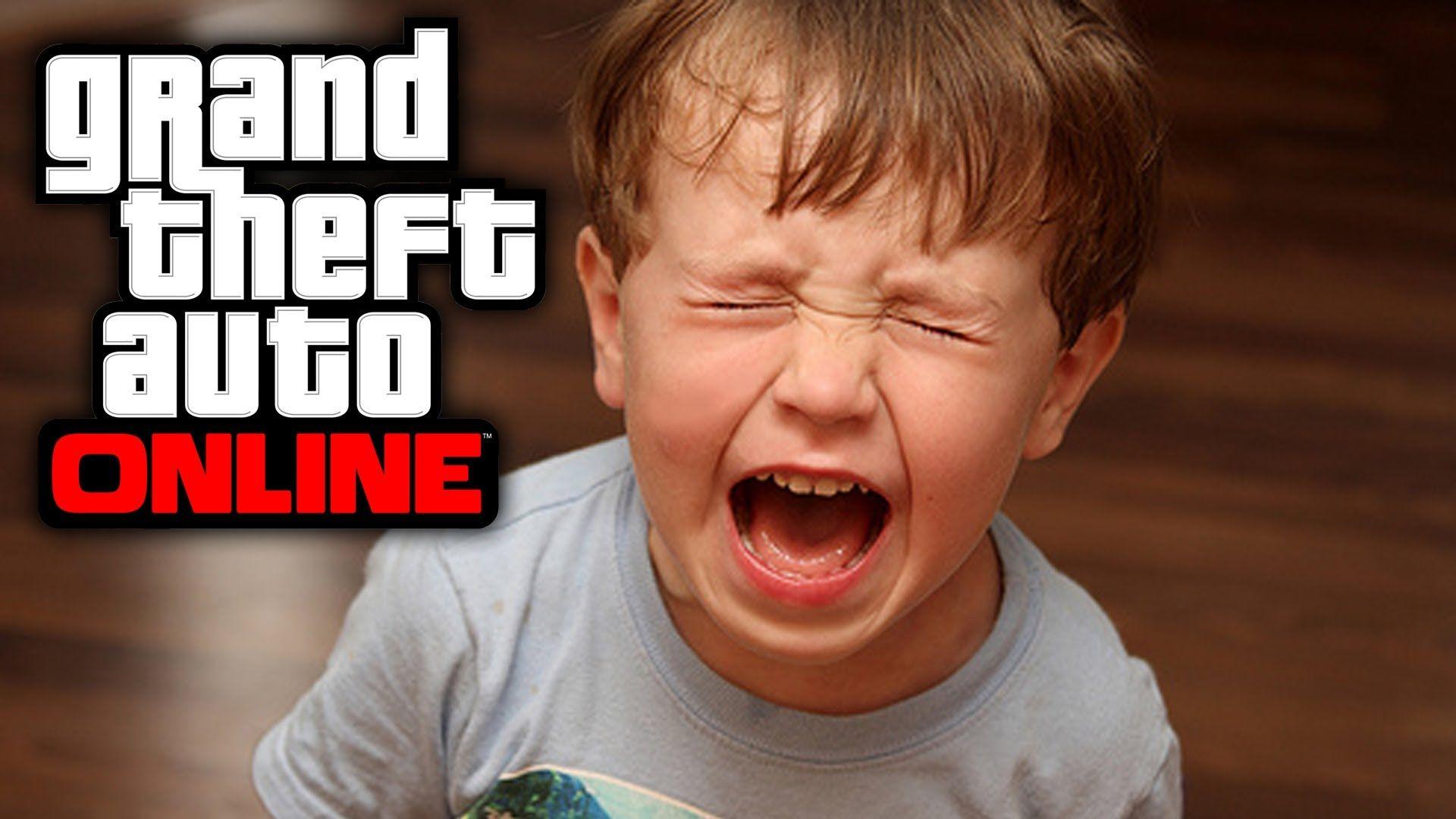 Kid Raging Hardcore In Gta Online After Being Trolled By