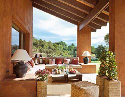 Un porche renovado casas r sticas r stico y terrazas for Casas con terrazas rusticas