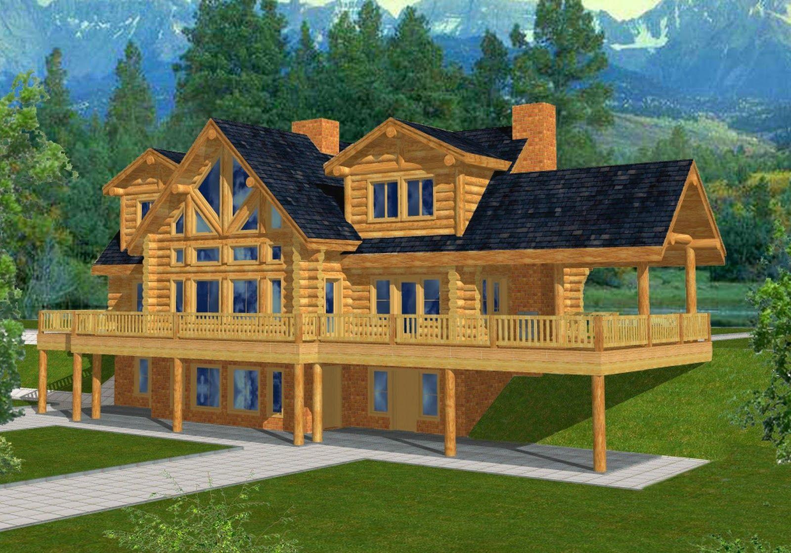 house planswith basements mountain home plans walkout basements