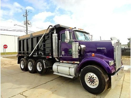 View A Larger Version Of 1999 Kenworth W900 Dump Truck For Sale In