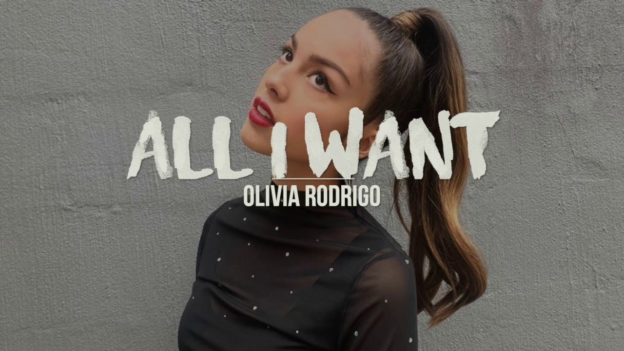 All I Want Olivia Rodrigo High School Musical The Musical The Series Lyrics Youtube In 2020 High School Musical High School Wanted Lyrics