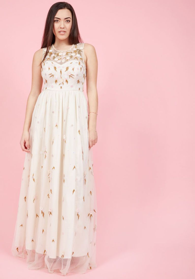 The Simple Truth Maxi Dress in Ivory in XXS | Products | Pinterest ...