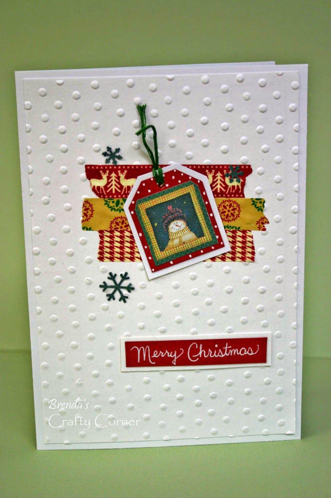 CASE-ing Christmas Challenge #10 Santa Supreme Brenda