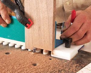 Dovetail Jig For A Router Table Woodworking Joints