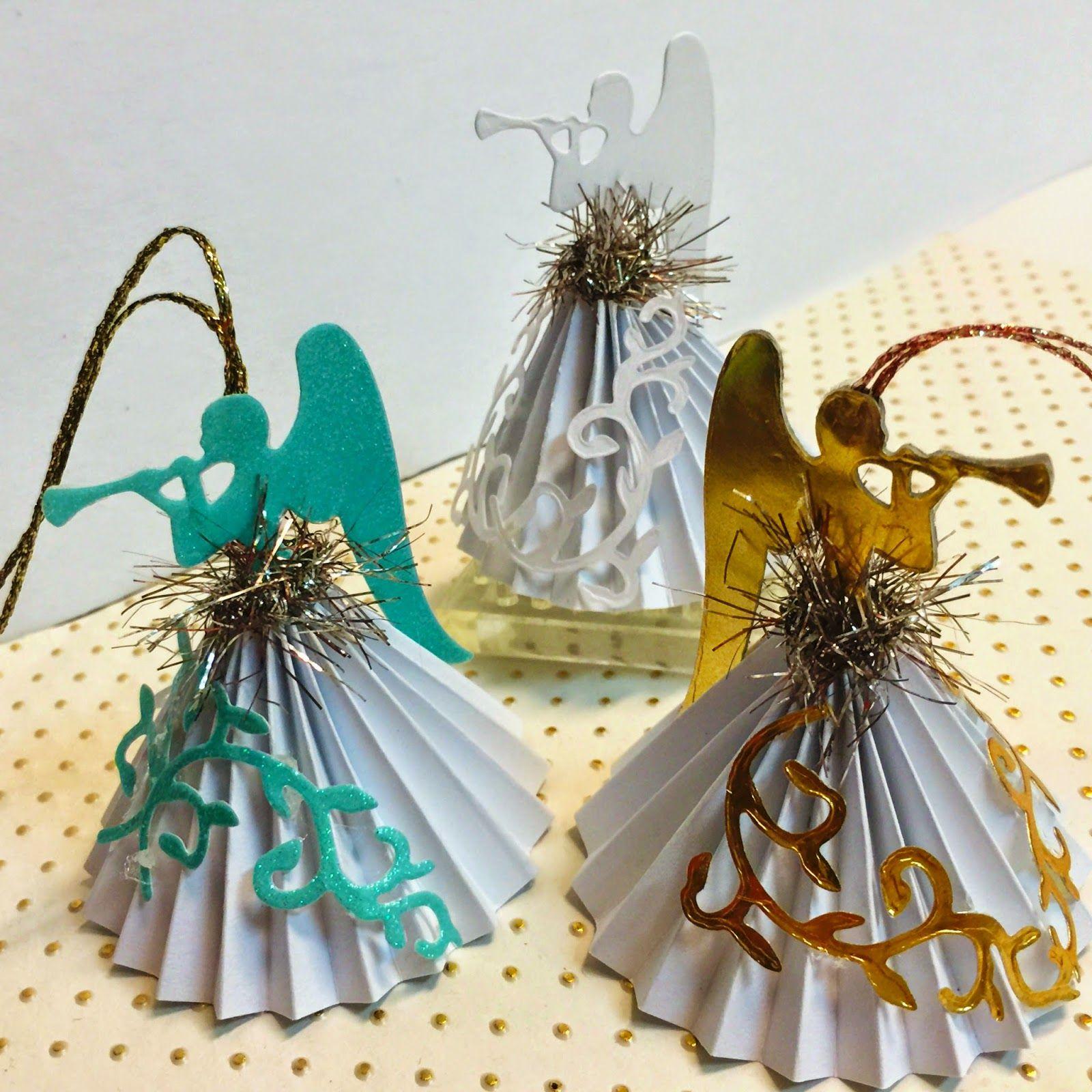 Angel Decorations To Make: Everlastingink.blogspot.com