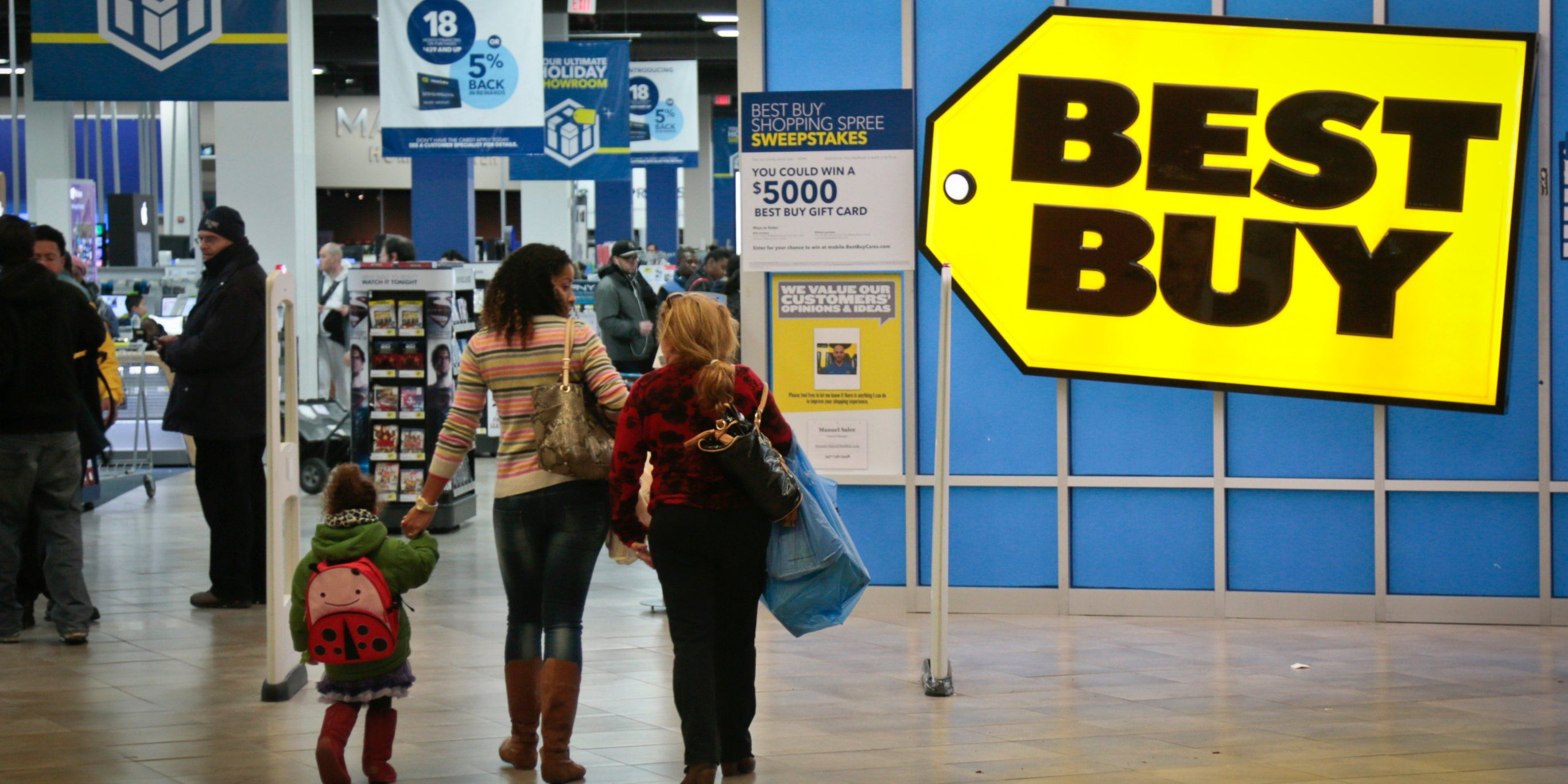 Best Buy is sliding after missing on guidance (BBY) Cool