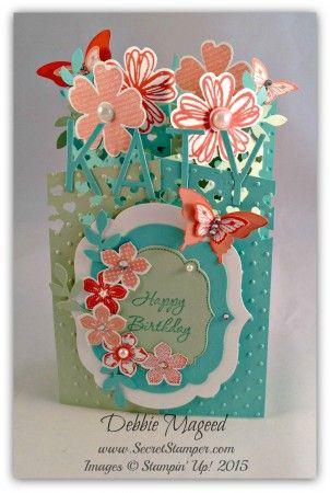 A Cascade Card For Memorable Moments Handmade Birthday Cards Cards Handmade Fancy Fold Cards