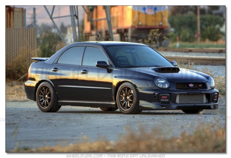 Car 2003 Subaru Wrx Wheels 17x9 Rota Dpt Subaru Wrx Subaru Impreza 2003 Subaru Wrx