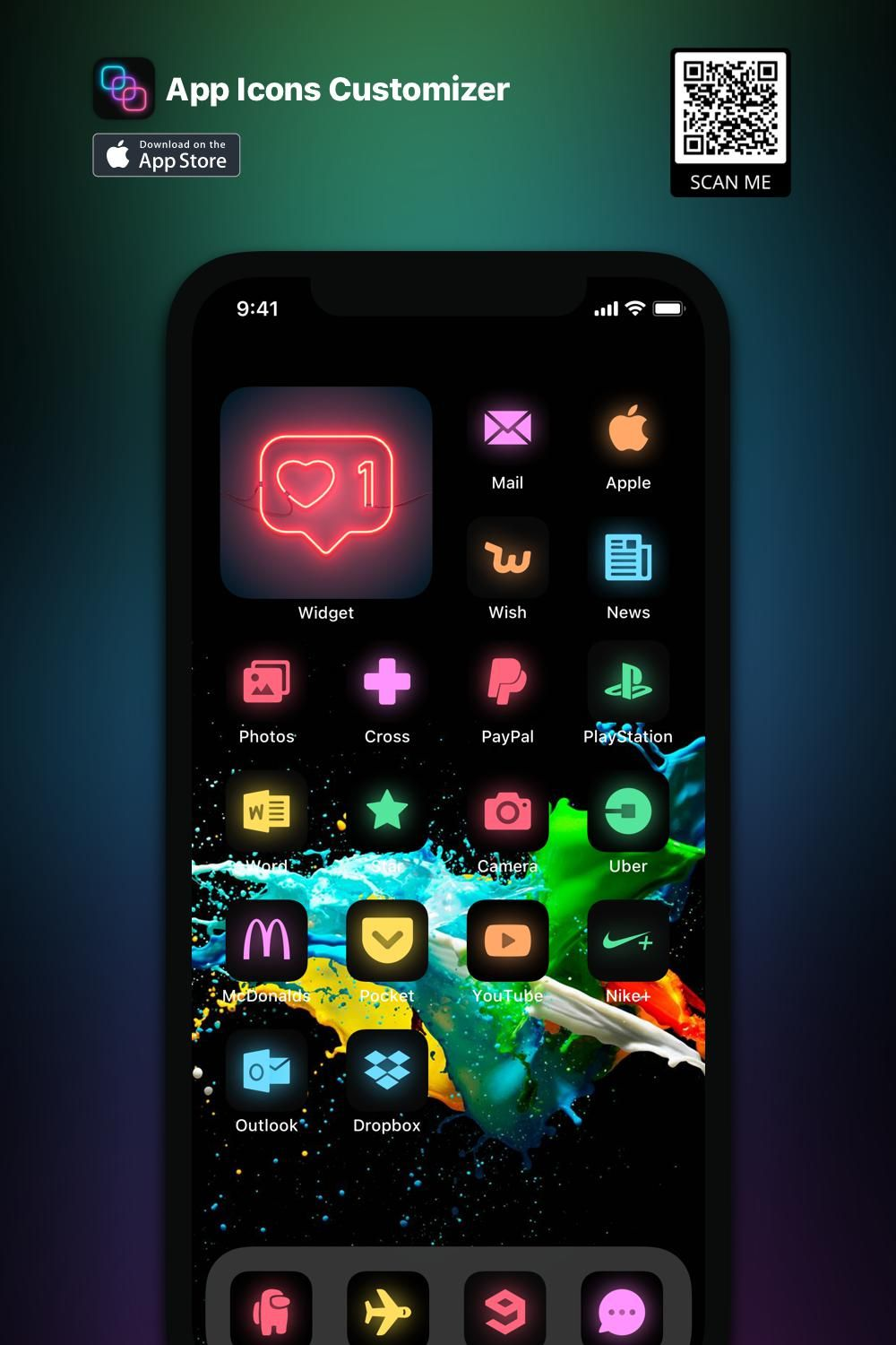 Pin On Colourful App Icons For Ios 14 Home Screen