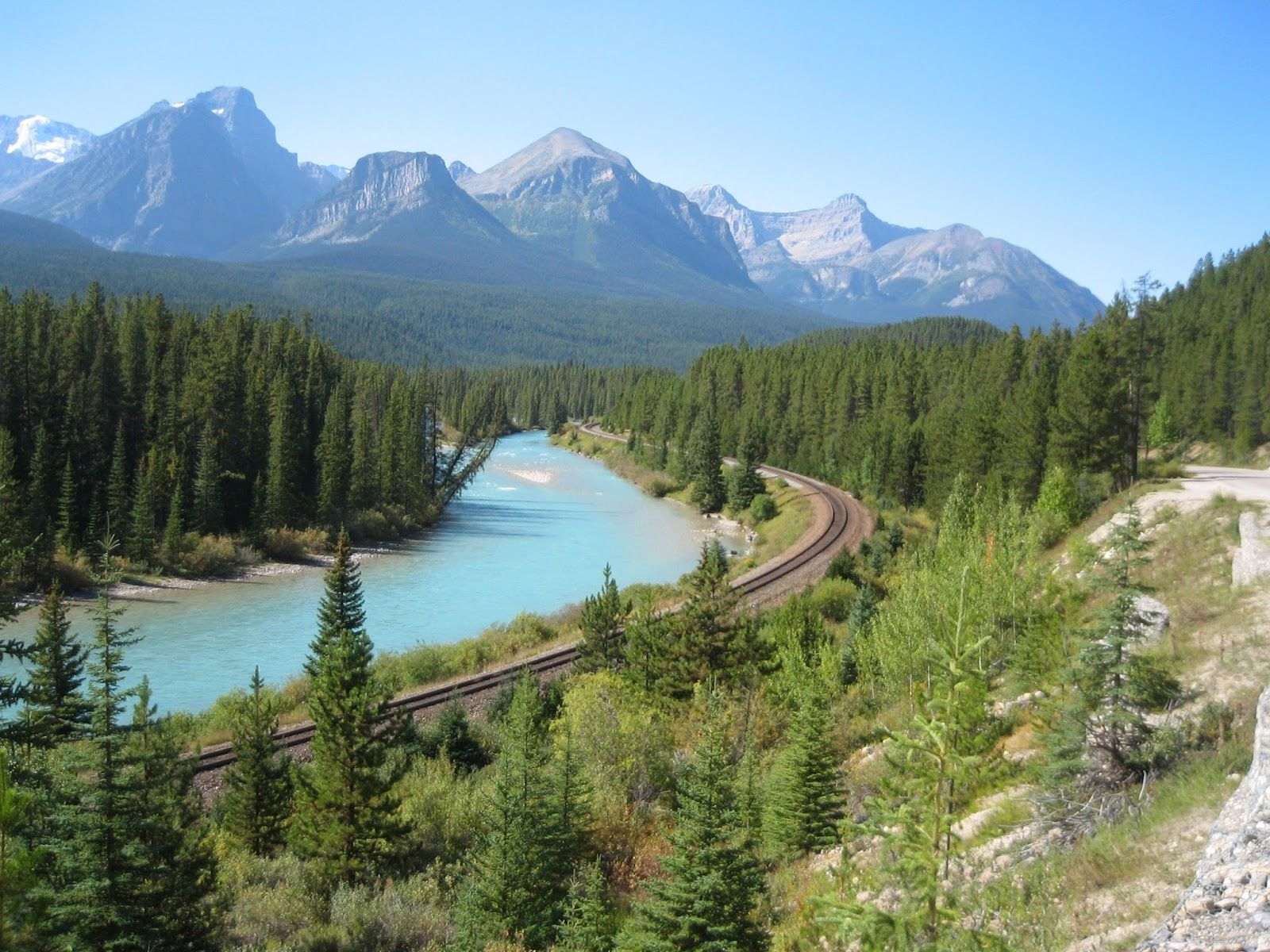 Tur til Canada - British Columbia: Lake Louise og Bow Vally Parkway