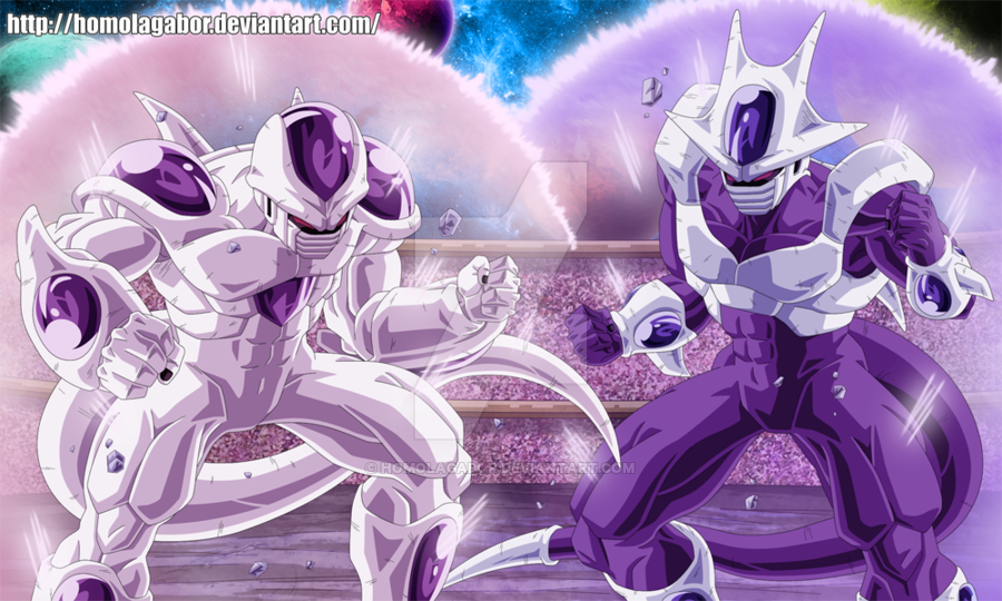 DragonBall Multiverse Freeza And Cooler In Form5 By