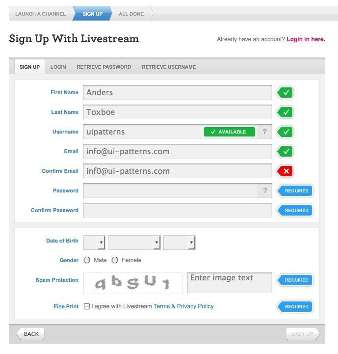 Tips To Increase Form Conversion  Inline Ui Ux Design And