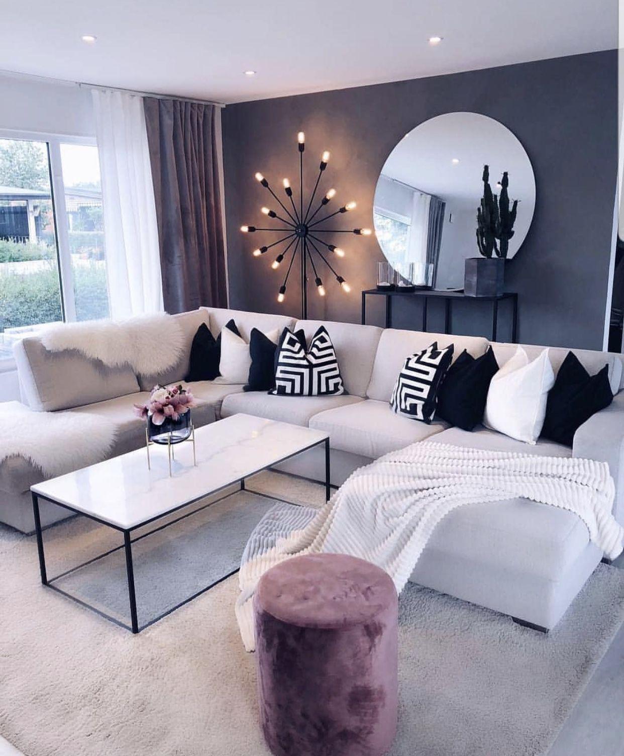 21 Antique Living Room Black Pink To Make Luxurious Look Pink Living Room Luxury Living Room Home Pink and black living room ideas