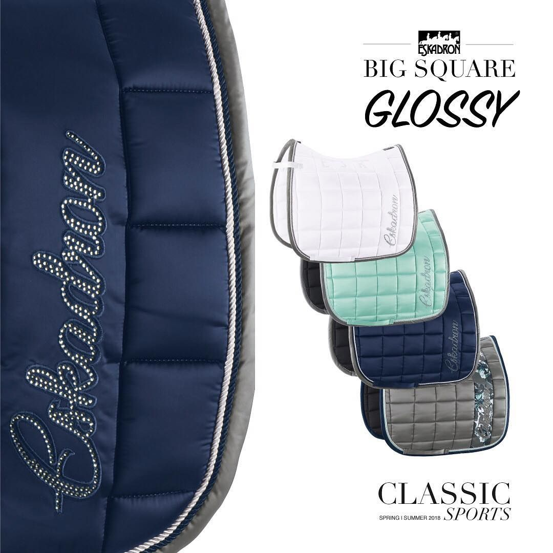 Shine Bright With The New Big Square Glossy Whether Competition Or Training This Saddle Cloth Is A Real Eye Catcher Equestrian Style Glossy Dressage