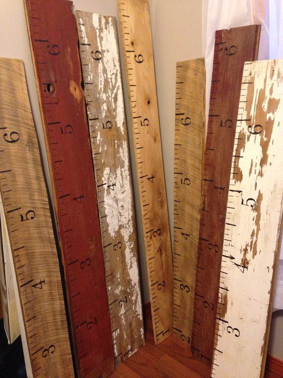 Growth Chart Salvaged Barn Wood Siding By Salvagedcreation