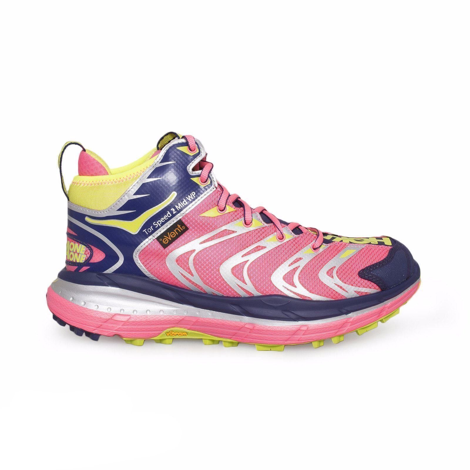 a7ddb3a644fbc Hoka One One Tor Speed 2 Neon Pink Astral Running Shoes | Products ...