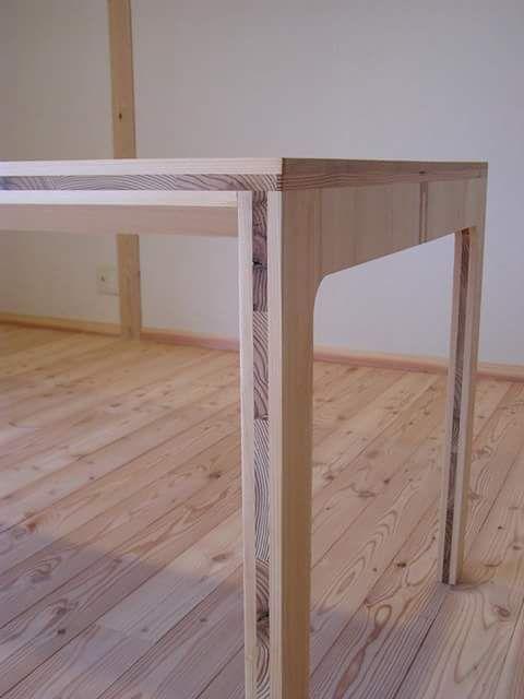 tafel gemaakt uit multiplex interieur tafel multiplex