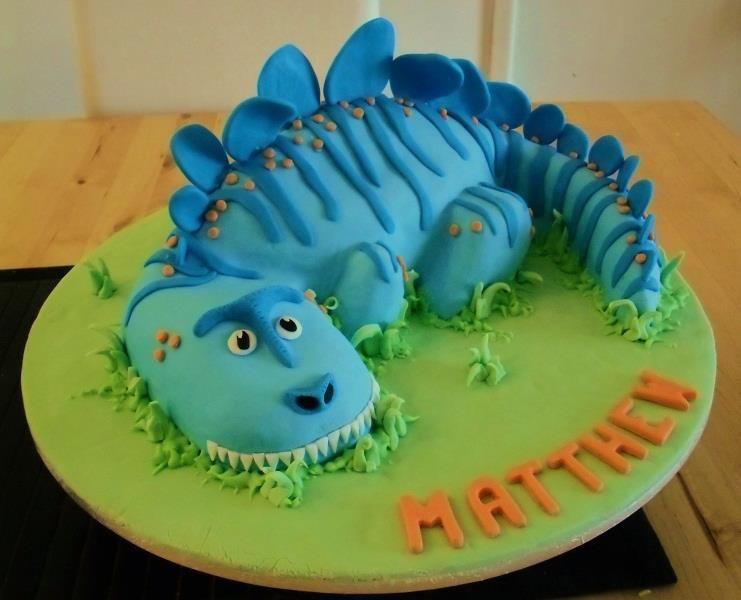 blue dinosaur birthday cake kids stuff Pinterest Dinosaur