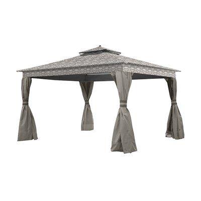Garden Winds Courtyard Gazebo Replacement Canopy Gazebo