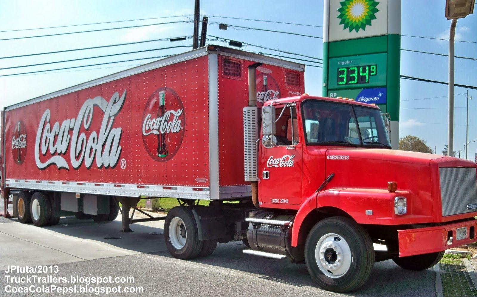 Pin On Coca Cola Trucks