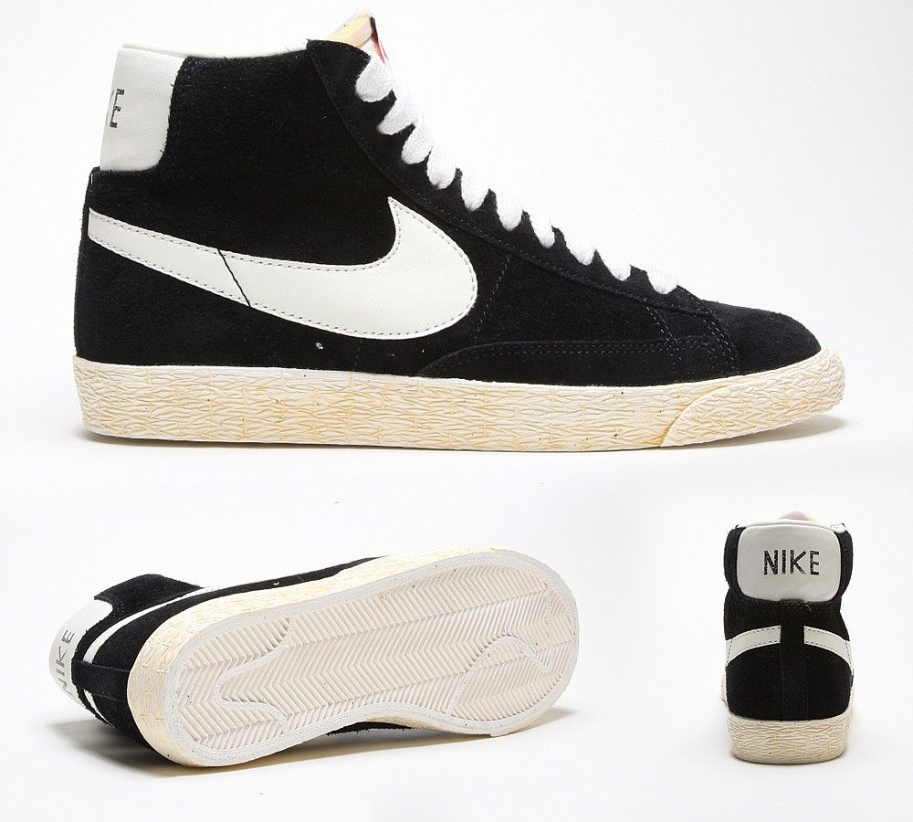 nike mens blazer mid premium vintage suede trainers for women