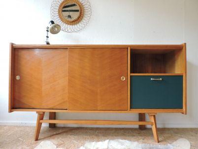 bahut ch ne des ann es 50 mid century pinterest bahut les ann es 50 et ann es 50. Black Bedroom Furniture Sets. Home Design Ideas