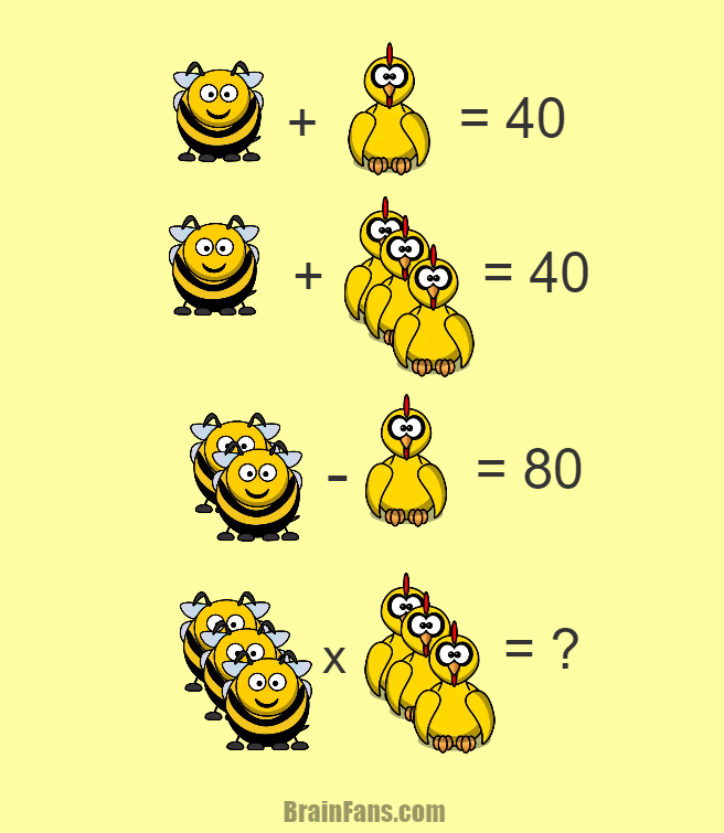 Brain teaser Number And Math Puzzle This one is math