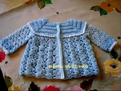 ROUPINHAS DE BEBE 0001 Más   Boleros, sweaters infantiles crochet ...