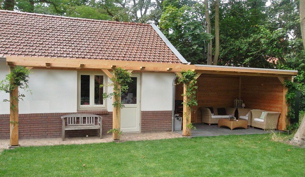 13 landelijke pergola klassieke houten veranda for Zelfbouw veranda