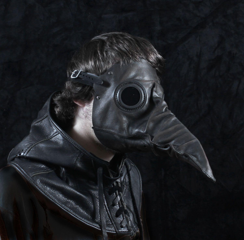 Plague doctor mask halloween Laughing bird crow Horror COSPLAY Masquerade mask