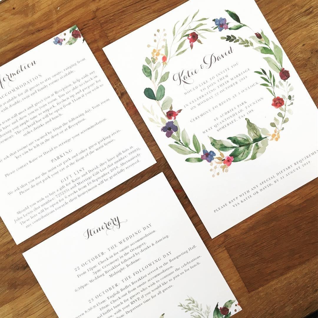 Bespoke Customised Wedding Stationery Olive Weddings Wedding Stationery Bespoke Wedding Invitations Personalised Wedding Invitations