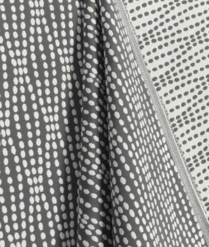Waverly Strands Charcoal Fabric