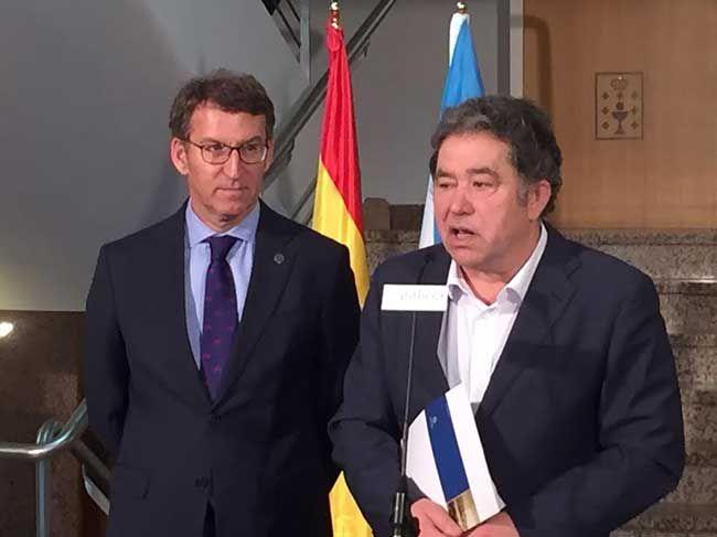 O alcalde confirma os compromisos da Xunta con Pontevedra