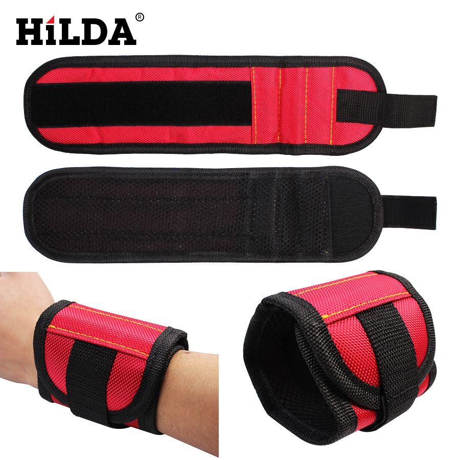 HILDA Starke Magnet Armband Werkzeug Einstellbare Handgelenk Bands ...