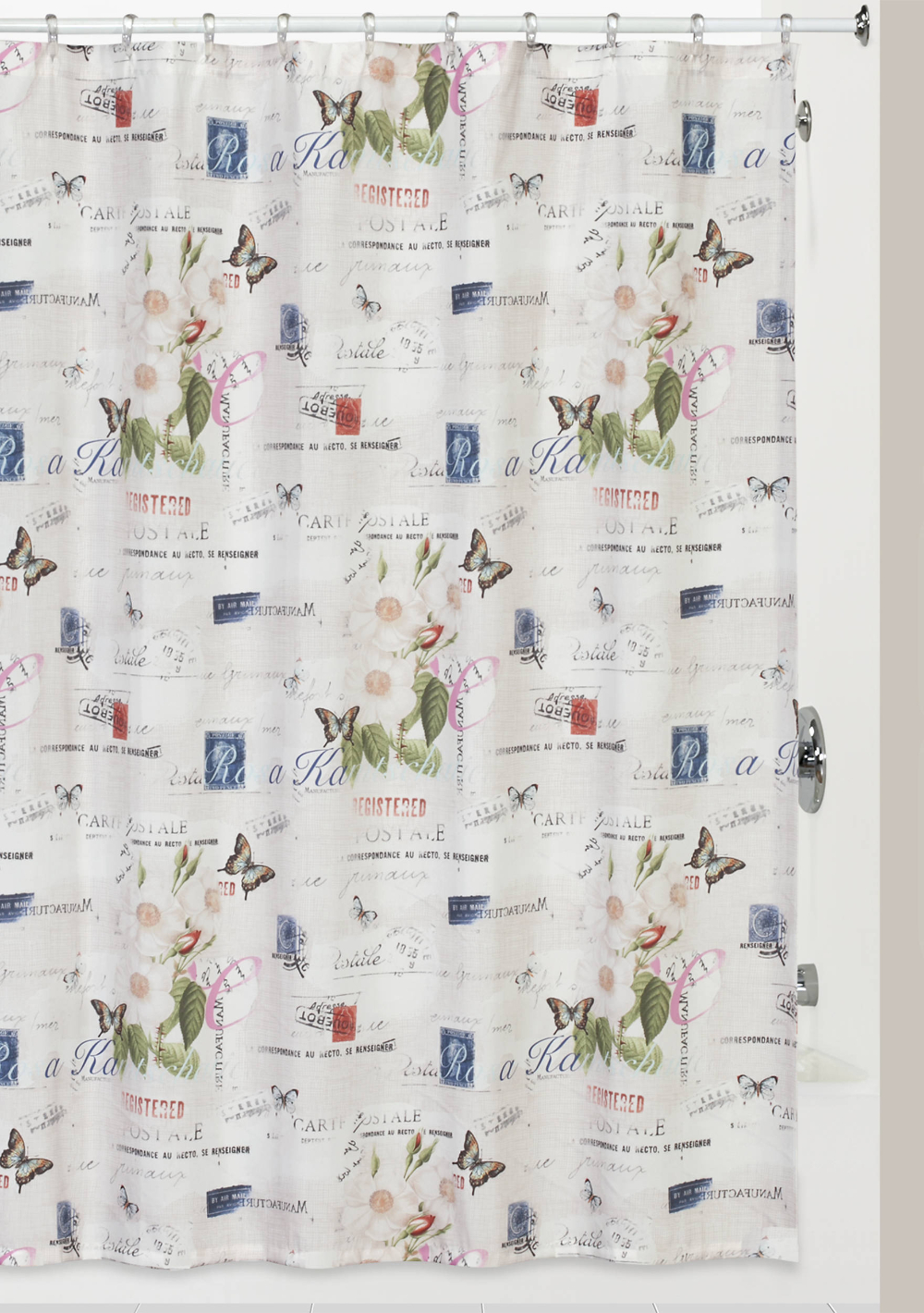 Creative Bath Botanical Diary Shower Curtain Belk Fabric
