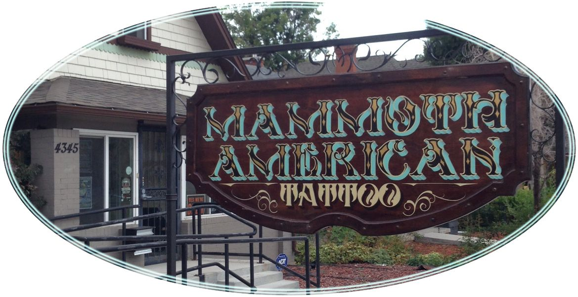 Mens Tattoo Shop Denver Co: Mammoth American Tattoo Parlor 4345 Tennyson Street