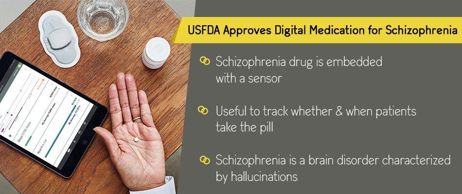 Digital schizophrenia pill with sensor can now track