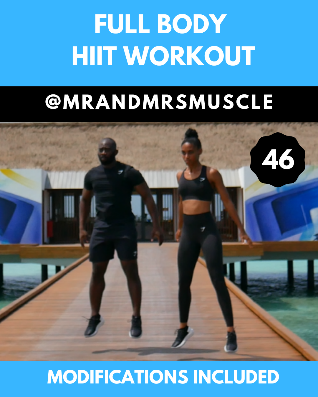 Full Body HIIT Workout - with Beginner Modifications - Full Body HIIT Workout – with Beginner Modifi...