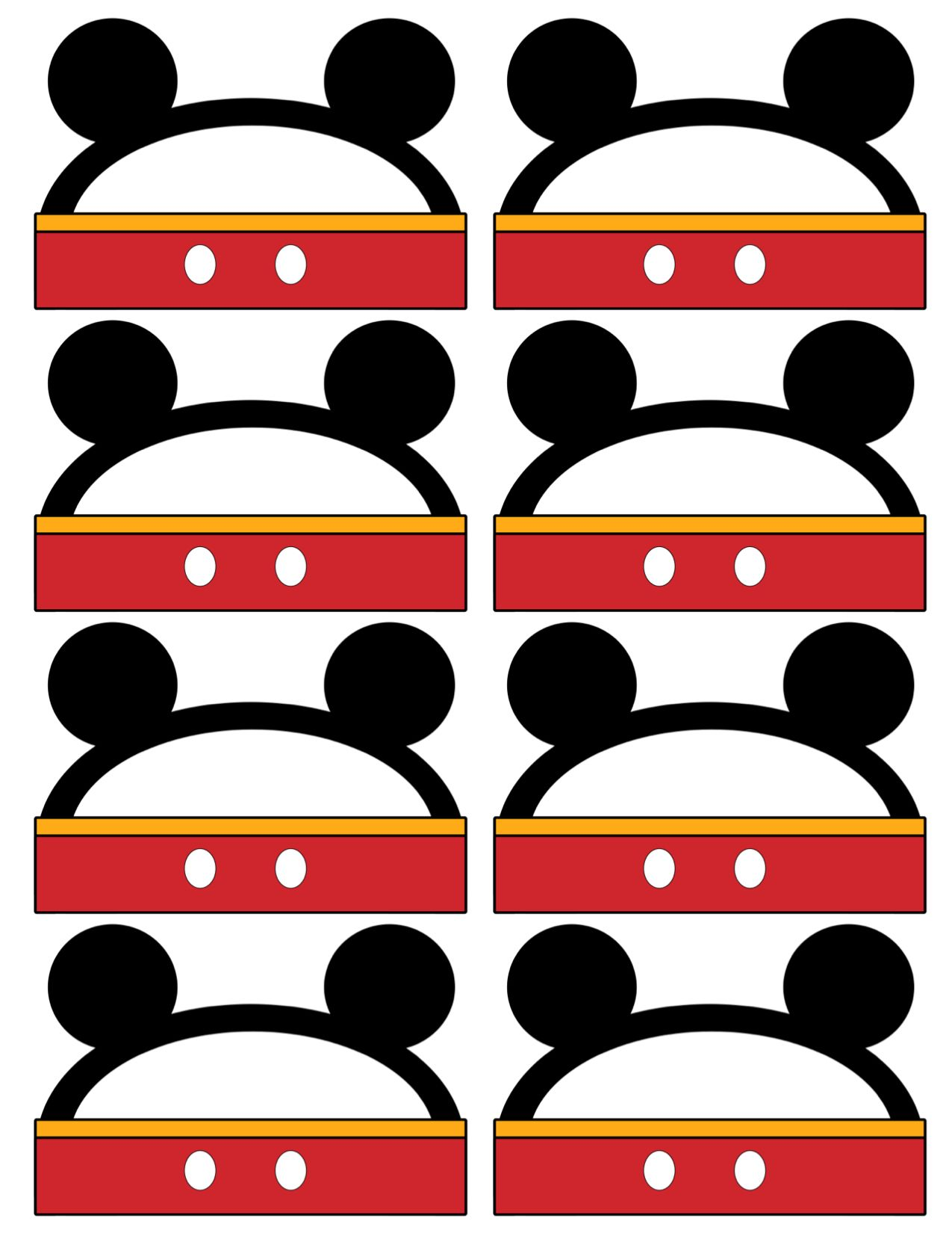 Mickey Mouse Labels Free Printable | Oh TWOdles. CAS 2nd ...