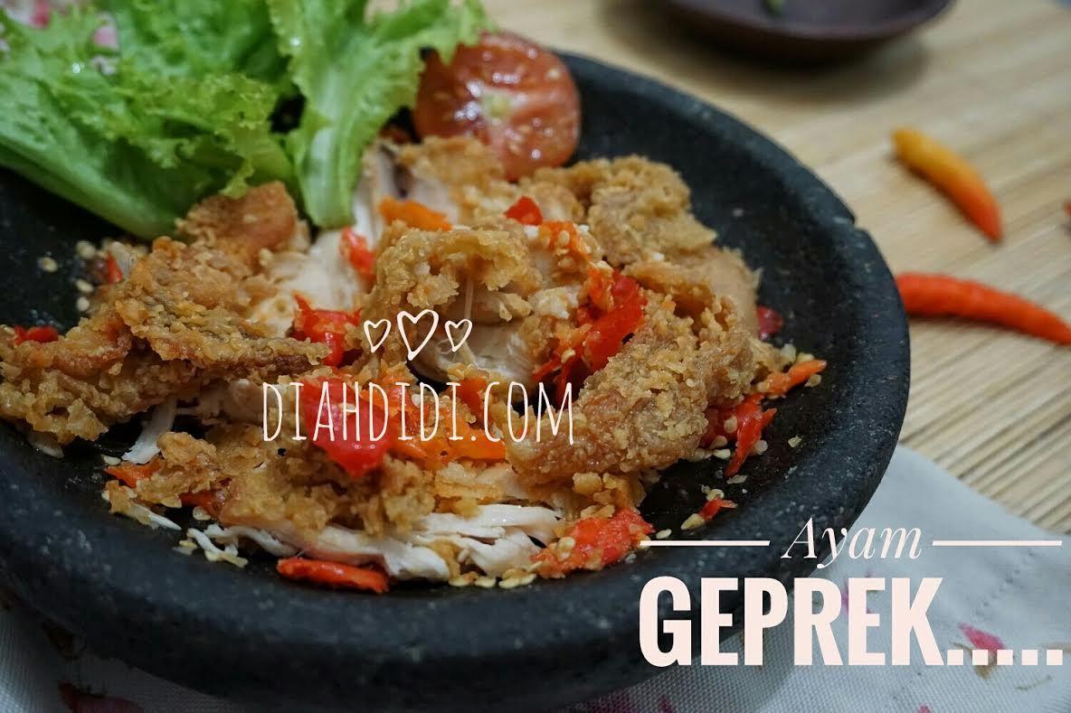 Blog Diah Didi Berisi Resep Masakan Praktis Yang Mudah Dipraktekkan Di Rumah Resep Ayam Makan Malam Resep
