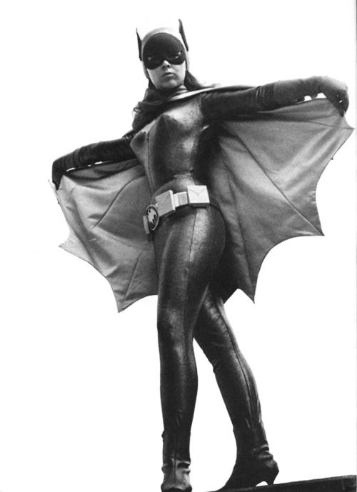 vintagegal: Yvonne Craig as Batgirl 1960's