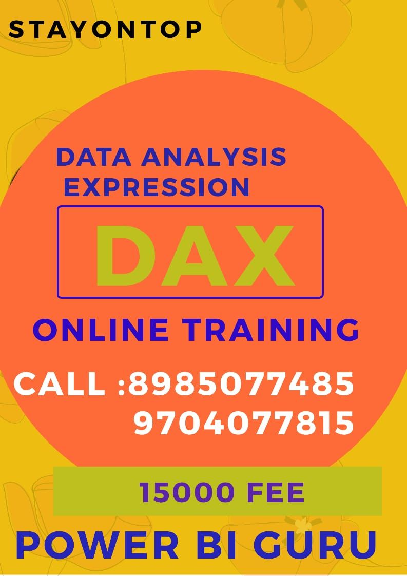 Pin on DAX ONLINE training